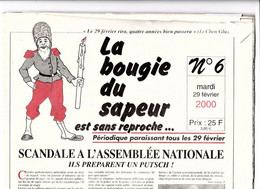 LA BOUGIE DU SAPEUR EST SANS REPROCHE N° 6 29/02/2000 - 1950 à Nos Jours