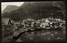 Carte Photo - Norway - Norge - Odda  - Circulée - Eneret Mittet & Co N° 7/66 - 2 Scans - Norway
