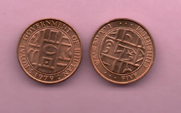 BUTAN # Moneda 5 Chertrum 1979 - Bhutan