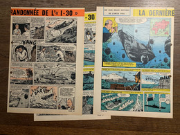 HISTOIRE ILLUSTREE LA DERNIERE RANDONNEE DE L I 30 SOUS MARIN PRESENCE DE TROUS - Vecchi Documenti