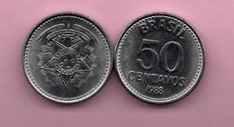 BRASIL - 50 Centavos 1988 - Brasile