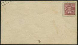 NDP U 51A BRIEF, 1863, 1 Gr. Rosa Auf 3 Ngr. Braun, Format A, Ungebraucht, Minimal Fleckig, Pracht, Mi. 110.- - Conf. De L' All. Du Nord