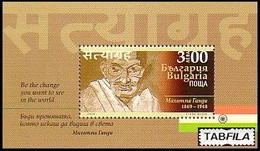 BULGARIA - 2020 - Mahatma Gandhi - 150 Ans De La Naissanse - Bl ** MNH - Mahatma Gandhi