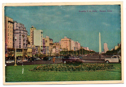 Buenos Aires - Avenida 9 De Julio - Argentina
