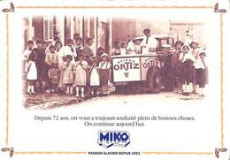 Publicité Glacier Miko (grand Format De Carte Postale) - Pubblicitari