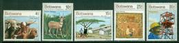 BOTSWANA 1976 Mi 169-73** 10th Anniversary Of Independence [DP947] - Celebrations