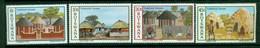 BOTSWANA 1982 Mi 295-98** Traditional Houses [DP968] - Other