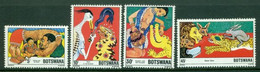 BOTSWANA 1980 Mi 253-56** Fairytales [DP972] - Fairy Tales, Popular Stories & Legends