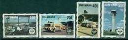 BOTSWANA 1994 Mi 565-68** 50th Anniversary Of ICAO [DP987] - Airplanes