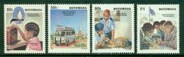 BOTSWANA 1996 Mi 601-04** Cemtenary Of The Radio [DP990] - Telecom