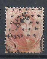 N°16, 40c Carmin Lpts 328 St Nicolas - 1863-1864 Médaillons (13/16)