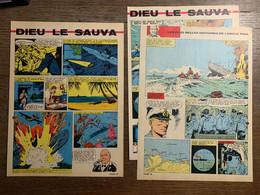 HISTOIRE ILLUSTREE DIEU LE SAUVA WERNER HARTENSTEIN U 156 - Vecchi Documenti
