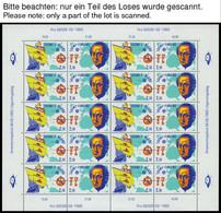 SAMMLUNGEN KB **, 1992-2002, Europa In 9 Kleinbogen, Pracht, Mi. 305.- - 1856-1917 Russische Verwaltung