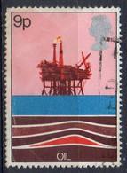 GRANDE BRETAGNE N° 855 O Y&T 1978 Ressources énergétiques Pétrole - 1952-.... (Elisabetta II)