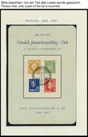 SAMMLUNGEN, LOTS *, 1951-91, 16 Verschiedene Minneblokker Mit Sonderstempel, Pracht - Norwegen
