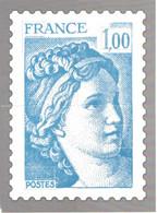 Bloc-Feuillet Philaposte Type SABINE De GANDON Par Quart - Les Quatre Quart Ensemble Représentant Un Timbre Inexistant ! - Variétés: 2010-.. Neufs