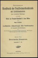 PHIL. LITERATUR Krötzsch-Handbuch Der Postfreimarkenkunde - Abschnitte V-IX, Braunschweig - Lübeck, Mit Lichttafeln I-V  - Philatelie Und Postgeschichte