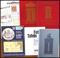 PHIL. LITERATUR Hannover - Sonder- Und Spezialauktionen Von 1981-2005, 4 Verschiedene Kataloge Und Hannover-Teil Aus Dem - Philatelie Und Postgeschichte