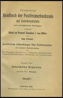 PHIL. LITERATUR Krötzsch-Handbuch Der Postfreimarkenkunde - Abschnitte XIII, Preußen, Ohne Lichttafeln, 1896, 232 Seiten - Philatelie Und Postgeschichte