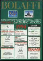 PHIL. LITERATUR Bolaffi 1994 - Catalogo Nazionale Dei Francobolli Italiani, Volume 2, 262 Seiten, In Italienisch - Philatelie Und Postgeschichte