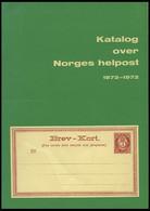 PHIL. LITERATUR Katalog Over Norges Helpost 1872-1972, 1971, Oslo Filatelistklubb, 79 Seiten, In Norwegisch Und Englisch - Philatelie Und Postgeschichte