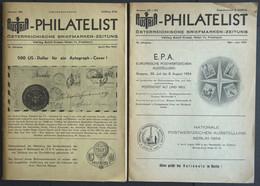 PHIL. LITERATUR Austria-Philatelist, 2 Hefte Nr. 100 Und 101-102, April/Mai Und Mai-Juni 1954, Adolf Kosel Verlag, Mit V - Philatelie Und Postgeschichte