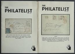 PHIL. LITERATUR The Philatelist, April 1975 Und May 1975, 32 Und 30 Seiten, Mit Vielen Abbildungen, In Englisch - Philatelie Und Postgeschichte