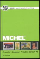 PHIL. KATALOGE Michel: Australien - Ozeanien - Antarktis Katalog 2016, Band 7, Teil 1 (A-M), Alter Verkaufspreis: EUR 84 - Philatelie Und Postgeschichte