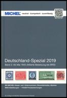 PHIL. KATALOGE Michel: Deutschland-Spezial Katalog 2019, Band 2, Ab Mai 1945 (Alliierte Besetzung Bis BRD), Alter Verkau - Philatelie Und Postgeschichte