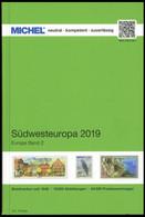 PHIL. KATALOGE Michel: Südwesteuropa 2019, Band 2, Alter Verkaufspreis: EUR 74.- - Philatelie Und Postgeschichte