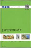PHIL. KATALOGE Michel: Südwesteuropa 2019, Band 2, Alter Verkaufspreis VB 74.- - Philatelie Und Postgeschichte