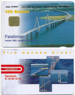 Denmark Exp. 08.2004 / Farø Bridge / Danmønt 100 Kroner - Used - Dänemark