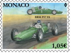 Monaco 2019 Race Cars Sport Formula BRM P57 British Racing Motors Voiture 1v Mnh - Ohne Zuordnung