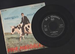 DISCO VINILE 45 GIRI ORIGINALE PUBBLICATO NEL 1963 SERGIO ENDRIGO SE LE COSE STANNO COSI' VIVA MADDALENA - Disco, Pop