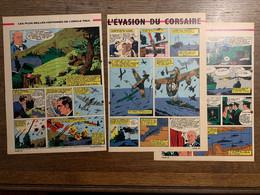 HISTOIRE ILLUSTREE L EVASION DU CORSAIRE SCHARNHORST GNEISENAU TOURVILLE PRESENCE DES TROUS - Vecchi Documenti