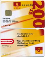 Denmark Exp. 07.2002 / BG Bank / Danmønt 200 Kroner - Used - Dänemark