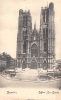 BRUXELLES - Eglise Ste-Gudule - Monumenti, Edifici