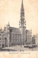 BRUXELLES - L'Hôtel De Ville - Monumenti, Edifici