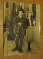 Photographie Photo De Charlie Chaplin - Beroemde Personen