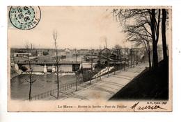 72 - LE MANS . RIVIÈRE LA SARTHE . PONT DU TREFFIÉR - Réf. N°10850 - - Le Mans