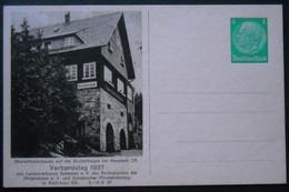 DR Privatpostkarten PP 126 C21-01 Ungelaufen, Verbandstag 1937 In Ratibor (1167) - Postwaardestukken