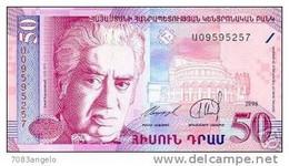 ARMENIA 50 DRAM 1998 Banconota FDS Assoluto - Armenia