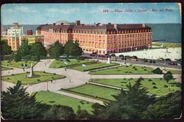 Argentina - Carte Postale - Circa 1950 - Mar Del Plata -Plaza Colón Y Casino - Non Circulé - A1RR2 - Argentina