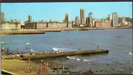 Argentina - Carte Postale - Circa 1980 - Mar Del Plata - Playas Del Centro - Non Circulé - A1RR2 - Argentina