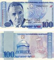 ARMENIA 100 DRAM 1998 Banconota FDS Assoluto - Armenia