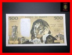 FRANCE 500 Francs  2.1.1969   P. 156  P.h.   VF + - 500 F 1968-1993 ''Pascal''