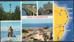 Argentina - Carte Postale - 1973 - San Clemente Del Tuyu - Vistas Varias - Non Circulé - A1RR2 - Argentina