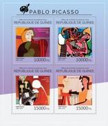 GUINEA 2014 SHEET PABLO PICASSO ART PAINTINGS Gu14517a - Guinee (1958-...)