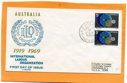 Australia 1969 FDC Mailed - Premiers Jours (FDC)