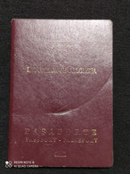 Passport / Passeport - Pasaporte - Colombia - Whit Visas - Historical Documents